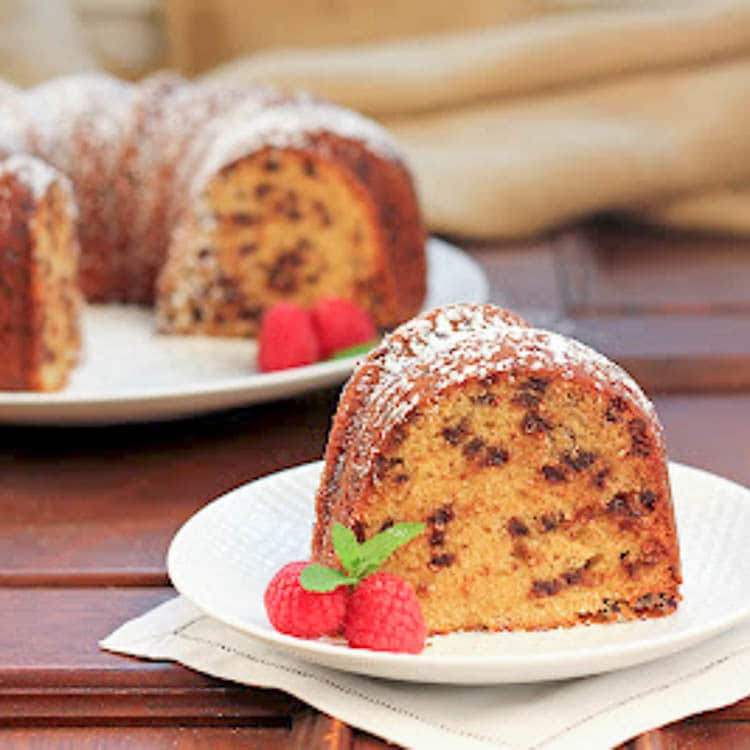 Southern Living Chocolate Chip Pound Cake Recipe