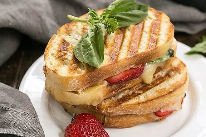 Strawberry, Turkey and Brie Grilled Cheese featured image