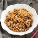 Vanilla Granola with Dried Fruit
