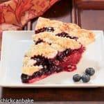Blueberry-Nectarine Pie #BakingwithJulia