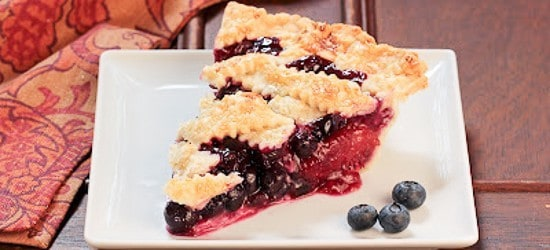 Blueberry Nectarine Pie