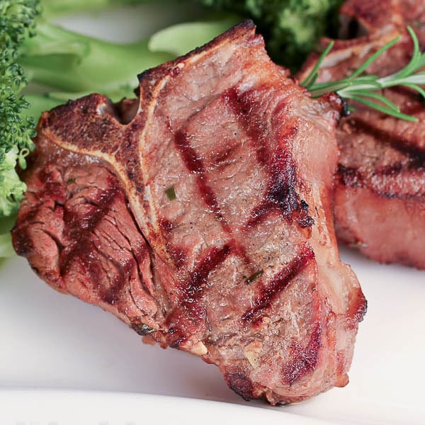Lamb Chops | A perfect marinade for your grilled lamb chops