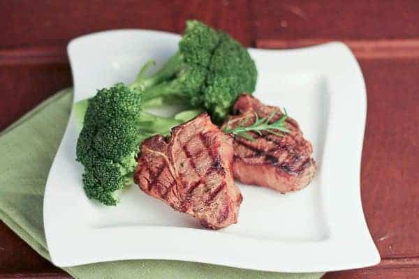Marinated Lamb Chops | the perfect marinade recipe for your grilled lamb chops