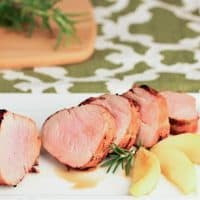 Maple Grilled Pork Tenderloin