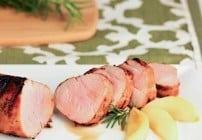Maple Grilled Pork Tenderloin