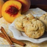 Brown Butter Peach Scones #GuestPost for Ping's Pickings