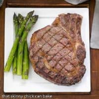 Perfect grilled rib eye steaks featured image