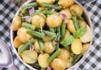 Potato and Green Bean Salad with Dijon Vinaigrette | A fabulous alternative to mayo based potato salad!