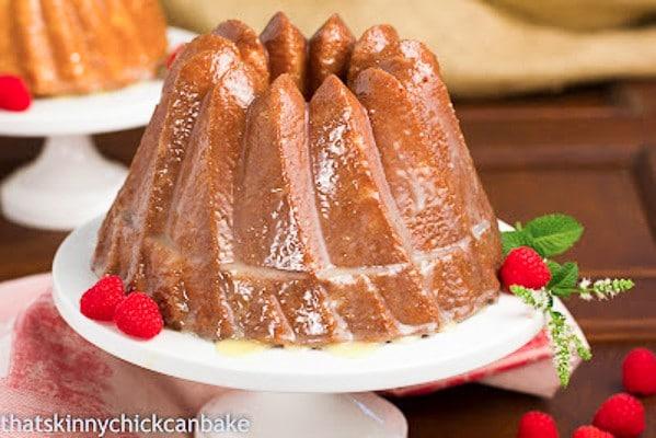 White Chocolate Bundt Cake