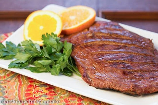 3 ingredient flank steak marinade