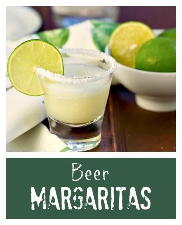 Beer Margaritas | Easy, slushy, irresistible margaritas!