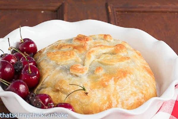 Baked Brie en Croute Recipe Brie en Croute With Cherries