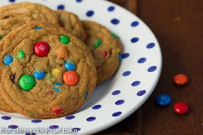 Brown Butter M&M Cookies featured image
