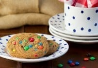 Brown Butter M&M Cookies #SundaySupper #LaborDay