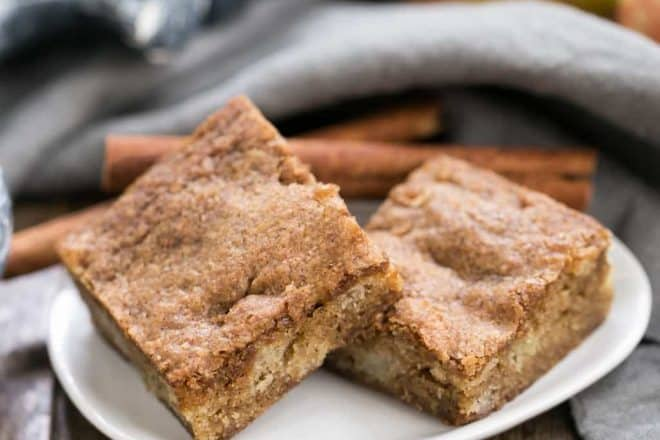 Apple Brownies That Skinny Chick Can Bake