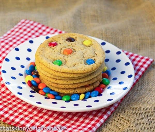 Classic M & M Cookies