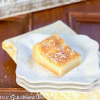 Gooey Bars | A totally homemade version of the classic Gooey Butter Bars