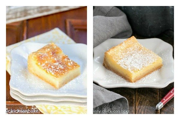 2012 and 2020 gooey butter bar images