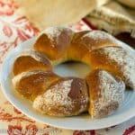 Honey Whole Wheat Bread Wreath