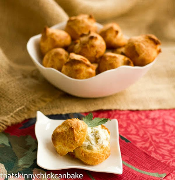 Goat-Cheese Mini Puffs #FrenchFridayswithDorie - That ...