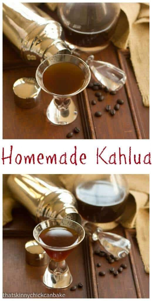Homemade Kahlua | An easy, homemade holiday gift!