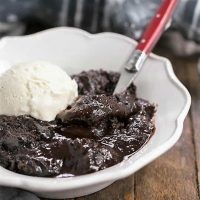 Hot Fudge Pudding Cake - When brownies and pudding collide!