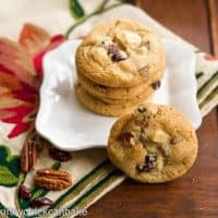 Cranberry Bliss Cookies | Inspired by Starbucks, and oh, so irresistible!!!