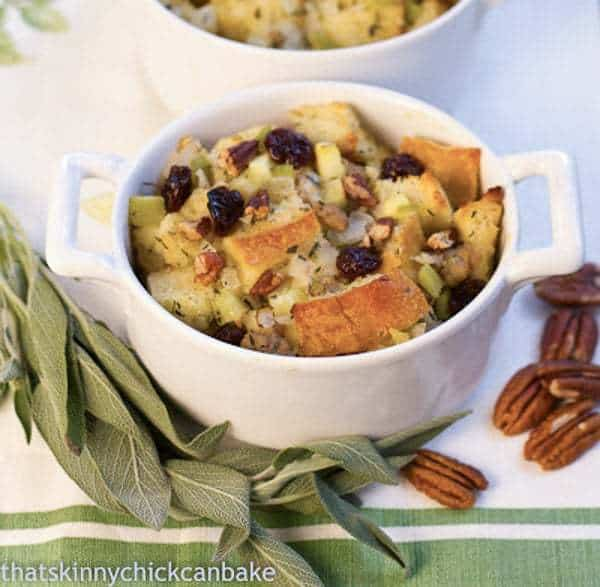 Sausage Dried Cherry Pecan Stuffing | Shake up your holiday stuffing!