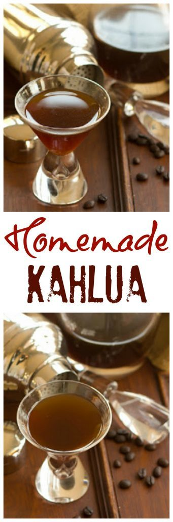 Homemade Kahlua | Make a copycat Kahlua recipe at home!!!