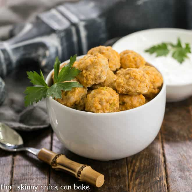Buffalo Chicken Meatballs featured image