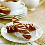 Gingerbread Biscotti #ChristmasWeek