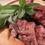 Grilled Pork with Plum Sauce~