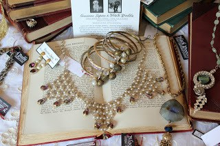 Jewelry on a book