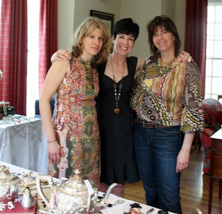 Sisters at jewelry party