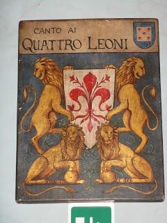 Quattro Leoni, Florennce Italy
