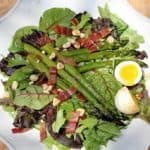 Bacon and Eggs and Asparagus Salad~