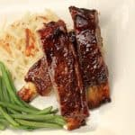 Cola and Jam Spareribs