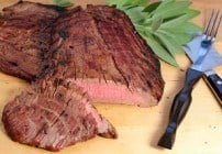 Red Wine and Soy Marinated Flank Steak