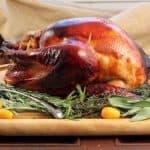 Holiday Lacquered Turkey with Turkey Brine Recipe