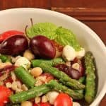 Mediterranean Salad with Farro, Asparagus and Tomatoes
