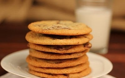 Chocolate Chunk Cookies | That Skinny Chick Can Bake