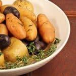 Broth Braised Potatoes~