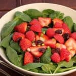 Berry and Spinach Salad