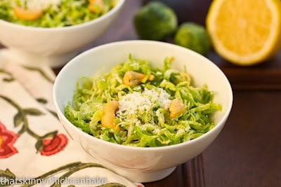 Shaved Brussels Sprouts Salad....for Breast Cancer Awareness~ - That ...