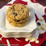 Oatmeal, Raisin, Dried Cherry and White Chocolate Chunk Cookies…Improv Challenge