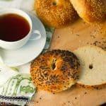 Sesame Seed Bagels…Baking with Julia