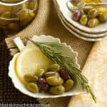 Herbed Olives #FrenchFridayswithDorie