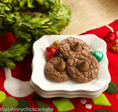 Double Chocolate Thumbprints | perfect holiday cookies!