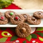 Double Chocolate Thumbprints Cookies