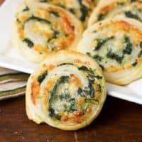 Muenster and Spinach Pinwheels featured image